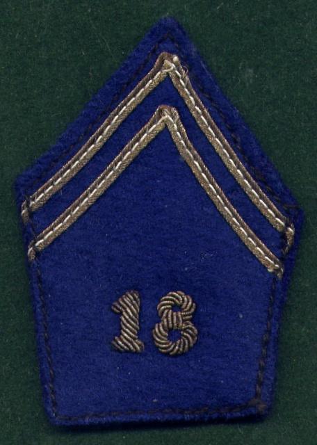 Quelques insignes du 18° 145896Bras182