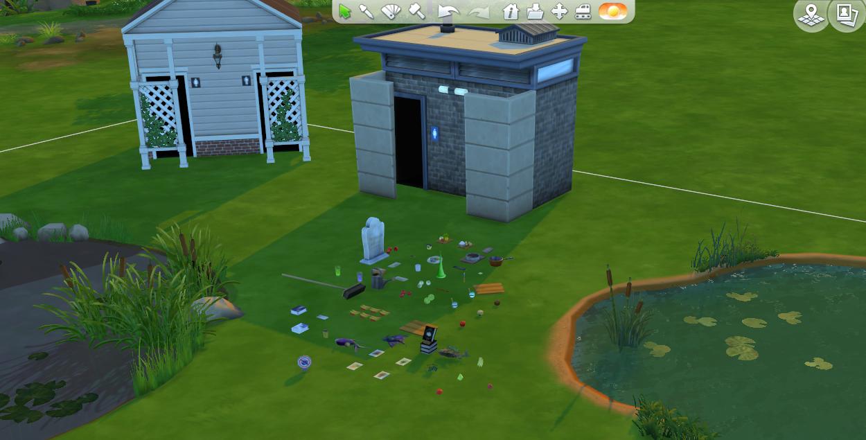 Trouver les objets cachés du jeu Les Sims 4 (le mode débogage / debug) 149319177