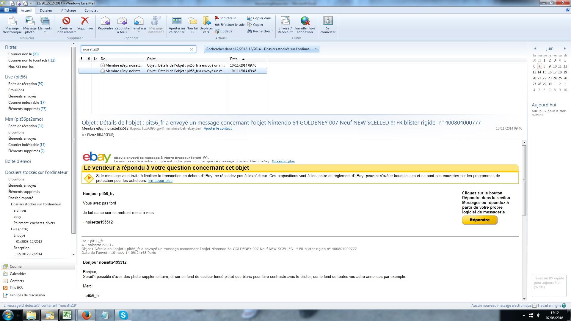 Goldeneye 64 blister rigide ebay fake ? 149730noisette