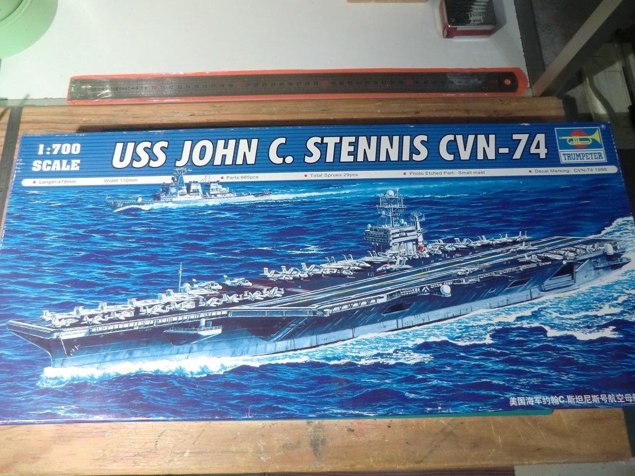 USS George H.W. Bush CVN 77 au 1/700 151656Bush1