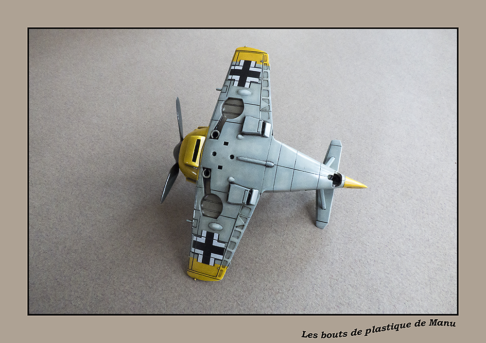 tiger - Bf 109 Tiger Model egg plane-FINI ! - Page 2 1523571546