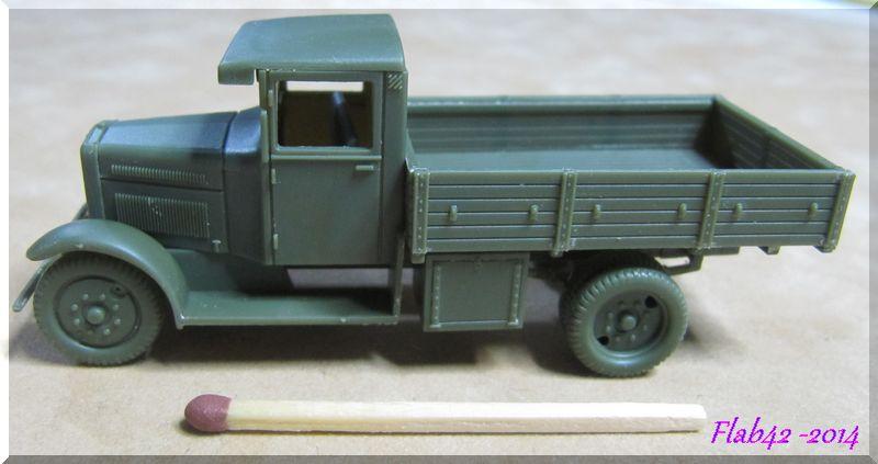 Camion Fiat 621 dans l'armée Polonaise - First to flight - 1/72ème 155117701