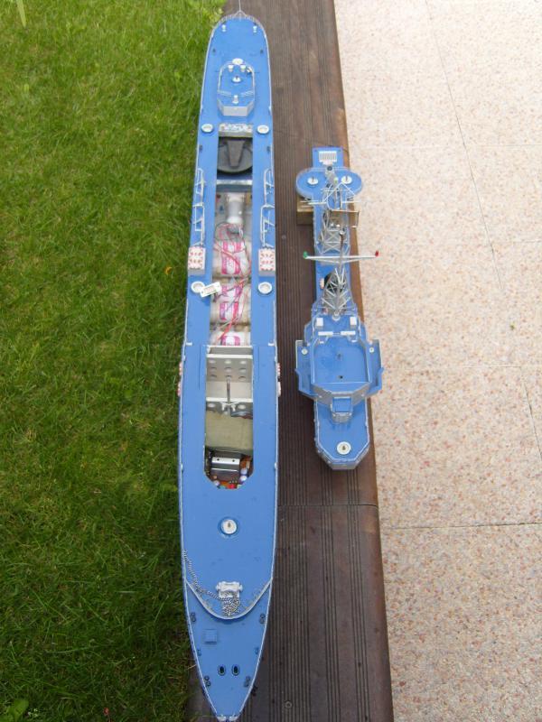 Escorteur d'escadre Surcouf  par grominau au 1/100ème - New maquettes 157802001