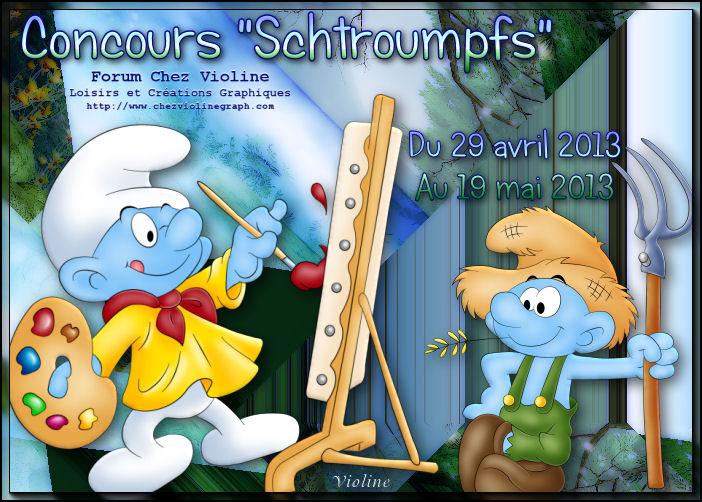 Chez Violine - Forum de Loisirs et Créations Graphiques 158254BanSchtroumpfs290413