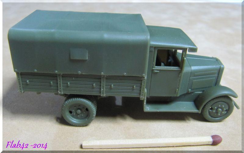 Camion Fiat 621 dans l'armée Polonaise - First to flight - 1/72ème 158602183