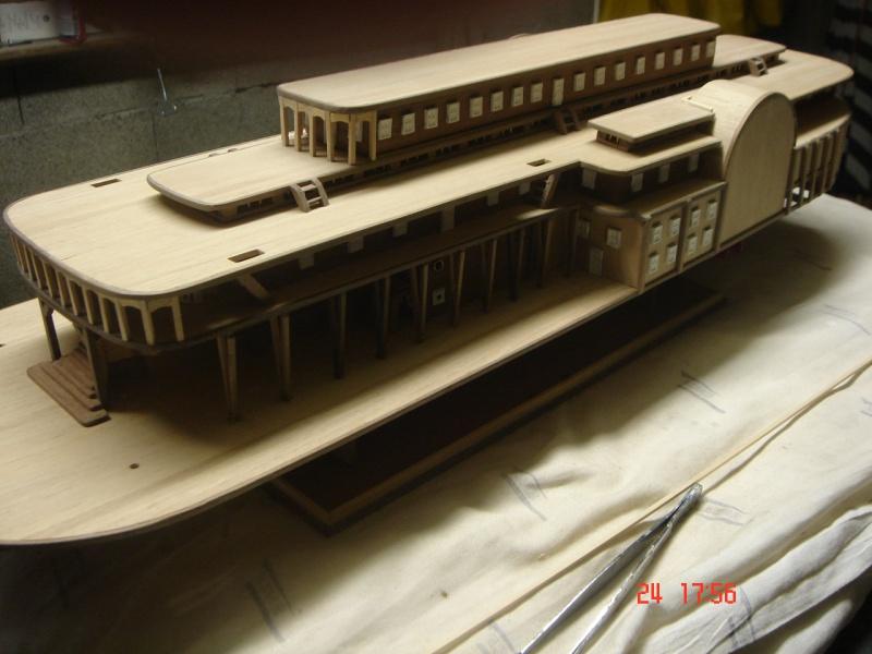 Bateau vapeur Robert E. Lee 1866 (Constructo 1/48°°) de Henri 159748DSC06807