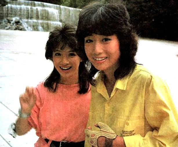 Les 2 actrices de Bioman & Nobuo Yamada ! 1614361450277118829197719278682636470449368615981n