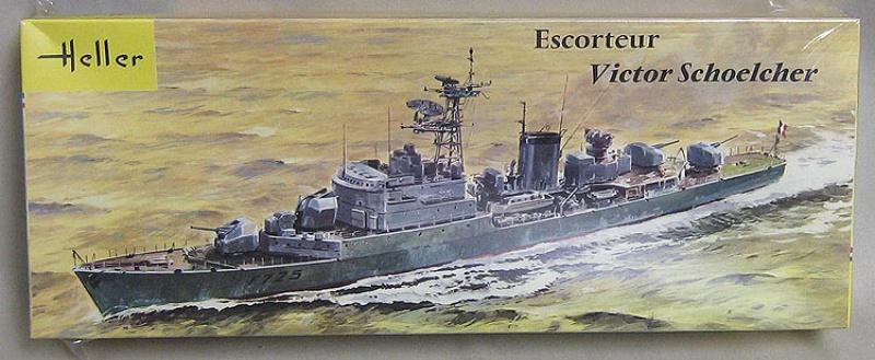 Aviso escorteur VICTOR SCHOELCHER 1/400ème Réf L 539 163416ModelKit019