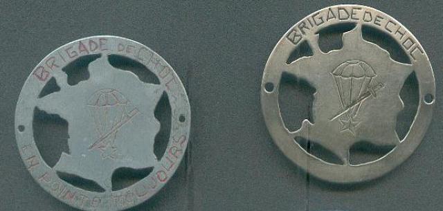 LES INSIGNES DU BATAILLON DE CHOC 1943/1963. 164278BrigadedeChoclocal