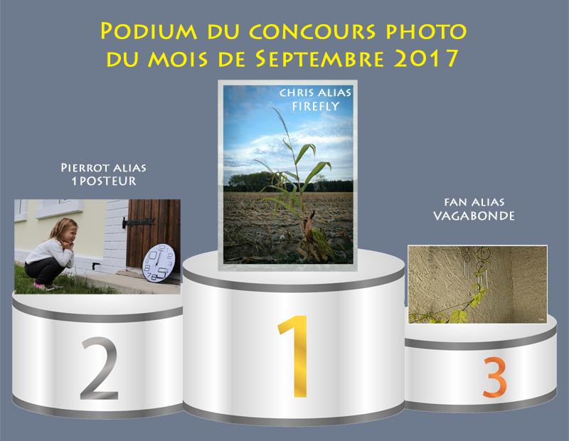 """Concours photo du mois de septembre 2017 - Thème """"Illustrer une expression courante"""" (terminé) 165178PodiumSeptembre"""