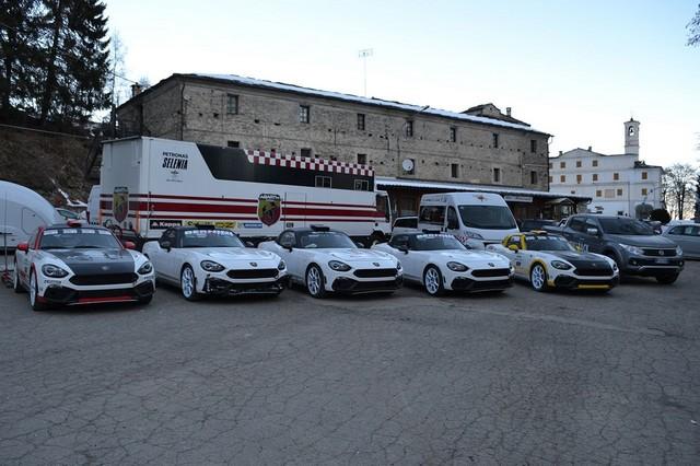 Premier test concluant en course pour l'Abarth 124 rally au 85ème Rallye de Monte-Carlo 167080170105AbarthMontecarloHP