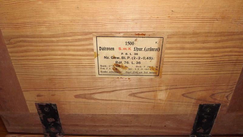 caisses pour munitions  ww1 et ww2 167551caisse3