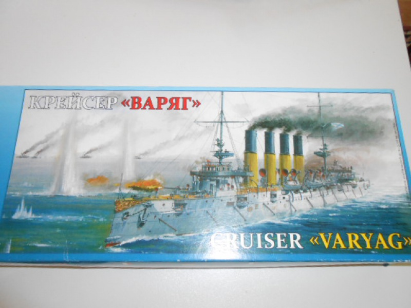 "Croiseur  Russe ""VARYAG"" Zvezda 1/350 pont en bois / PE  168291div003"