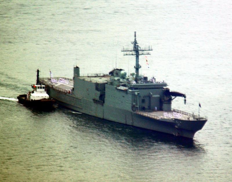 LANDING SHIP TANK (LST) CLASSE NEWPORT  168541HMASKanimbla