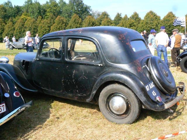 80 ans de bons et loyaux service la TRACTION avant Citroën 168962P1190793