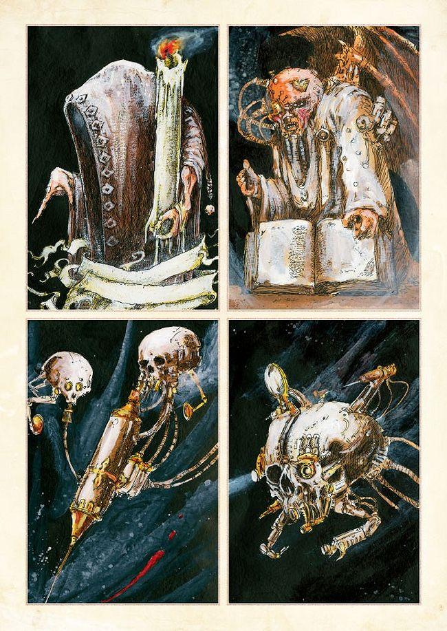 La Volonté de l'Empereur de John Blanche (Art Book) - Page 2 170214EmperorsWillpage1