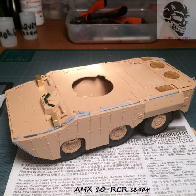 AMX 10 RCR SEPAR maquette Tiger Model 1/35 171172IMG3771