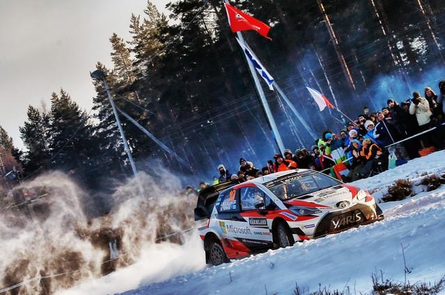 Jari-Matti Latvala Gagne En Suède Avec La Yaris WRC Et Prend La Tête Du Championnat Du Monde 172498AL20170025969