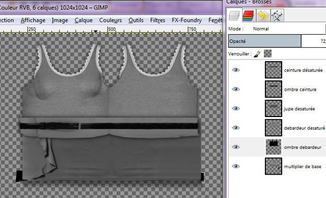 [Débutant] Créez vos vêtements - Partie V - Créez avec the Gimp 173271photo59