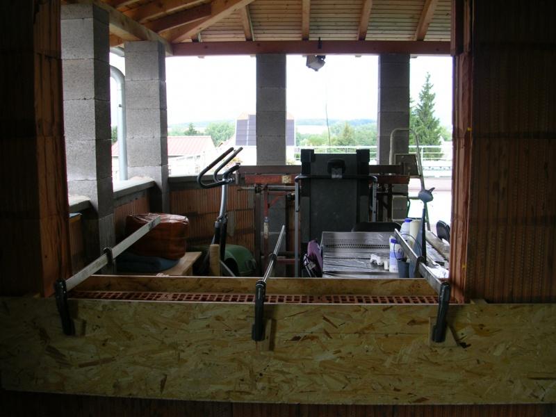 Pose ossature métallique nouvelle cuisine,pose placo et fenêtre - Page 3 175482cofrageenplace