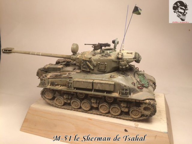 M-51 Super Sherman IDF - Academy 1/35 177104IMG4920Copie