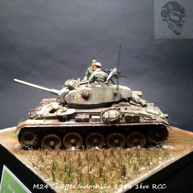 M24 Chaffee Indochine 1954 1ére RCC  177219IMG3739
