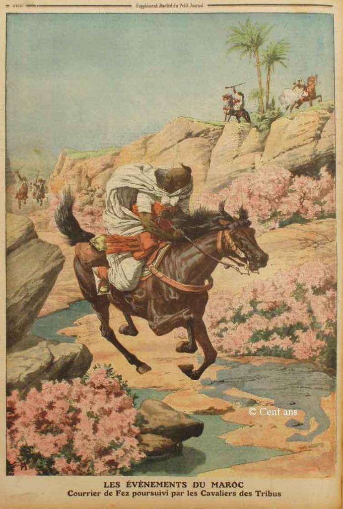 صفحات من تاريخ المغرب الحديث من خلال Le Petit journal illustré 177565pj106914051911b