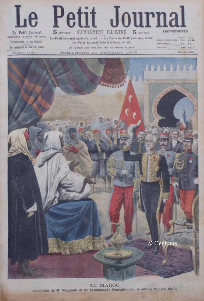 صفحات من تاريخ المغرب الحديث من خلال Le Petit journal illustré 179446pj95321021909