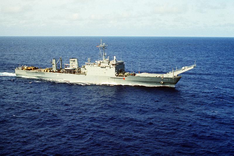 LANDING SHIP TANK (LST) CLASSE NEWPORT  179868USSFairfaxCountyLST1193
