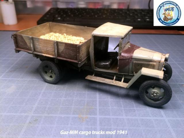 Camion russe Gaz-MM modèle 41 - MiniArt 1/35 181109IMG4047
