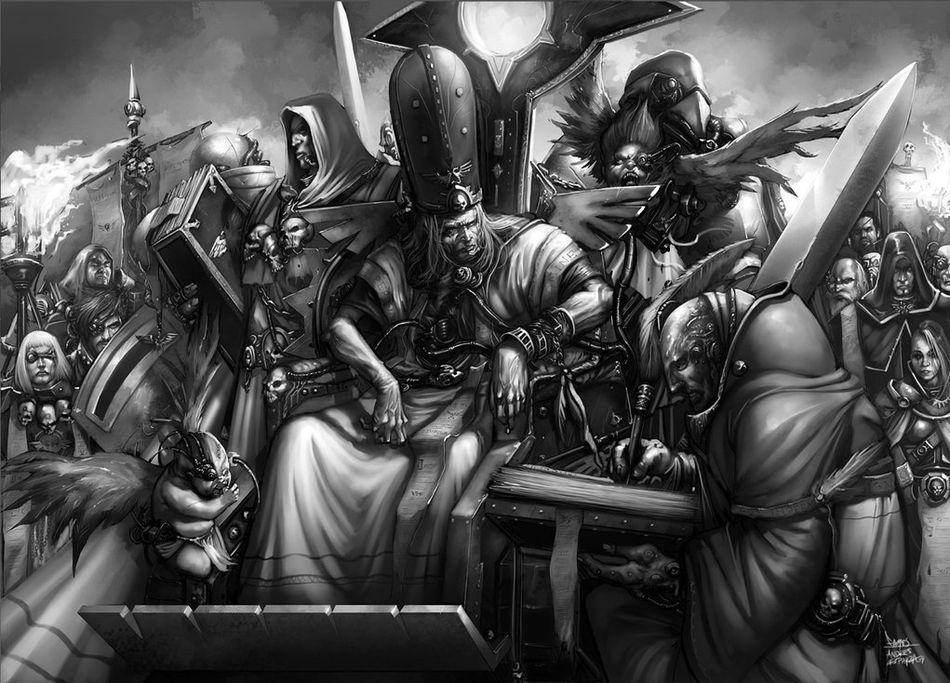 [W40K] Collection d'images : Inquisition/Chevaliers Gris/Sœurs de Bataille 181866inquisition5