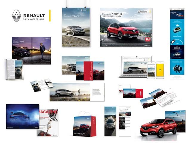 """""""Renault - La vie, avec passion"""" : la nouvelle signature de la marque au Losange 1826056815016"""