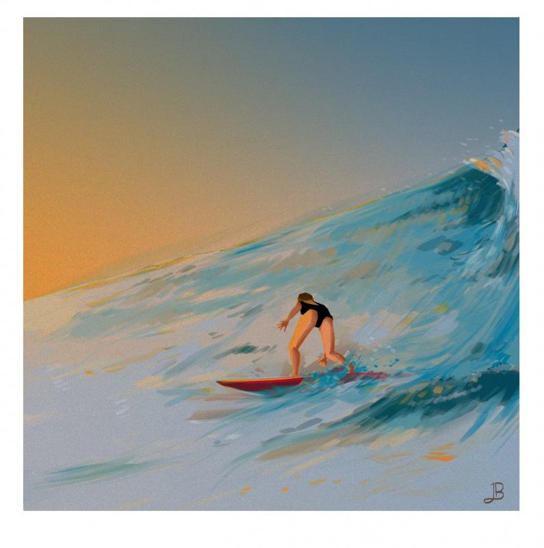 Illustrations Julien_B [Nudité Inside]  184828surfinggirl07