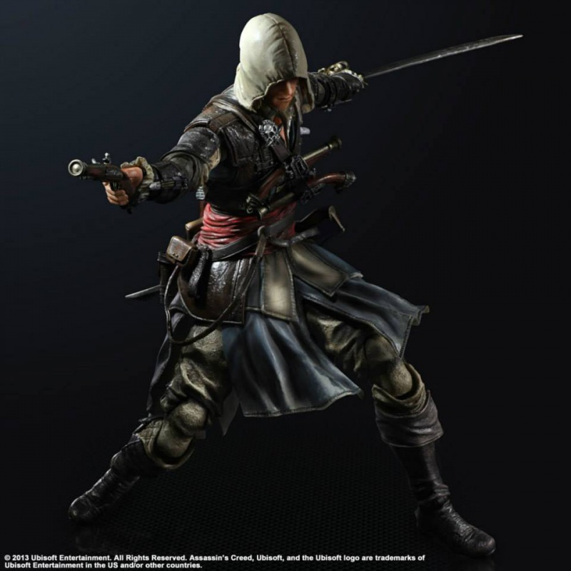 Le Topic des Figurines Limited! 185469playartskaiassassinscreedIVBlackFlagedwardkenwayfigure001