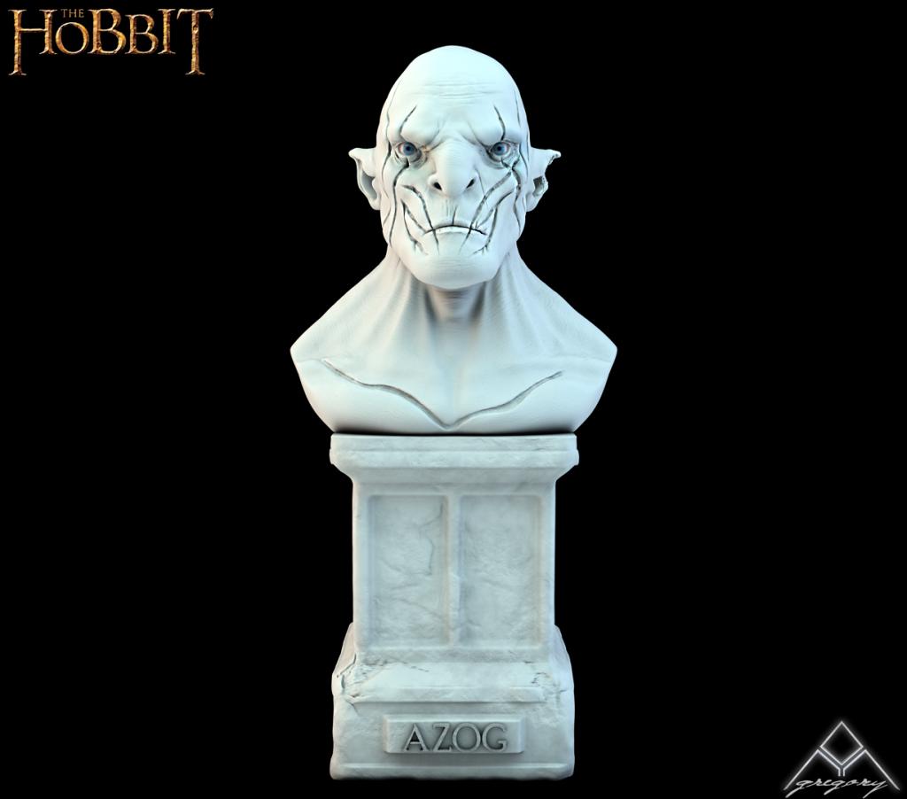 Azog de la saga Le Hobbit (Création 3D) par Greg_3D 185488AzogR16