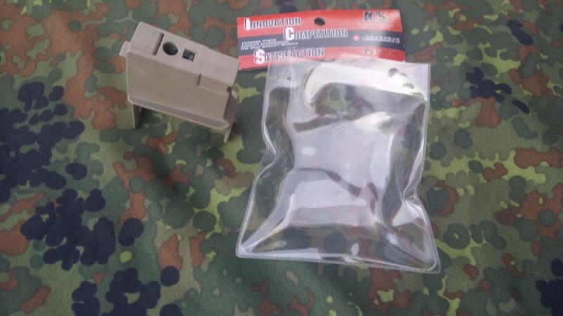 TRANSFORMATION embase DRUMBOX ELEC  M4 pour  G36 C ou  MG36 K 18596020150414074352