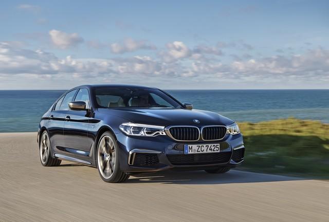 La nouvelle BMW M550i xDrive 186075P90244790highResthenewbmwm550ixd