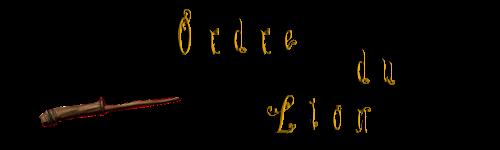 L'Ordre du Lion