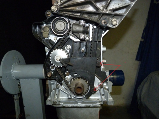 TUTO , remplacement kit distribution et pompe a eau 191535P1130852