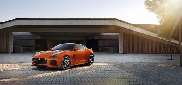 Nouvelle Jaguar F-TYPE SVR : La Supercar Capable D'atteindre 322 km/h Par Tous Les Temps 191944JAGUARFTYPESVR04COUPELocationLowRes