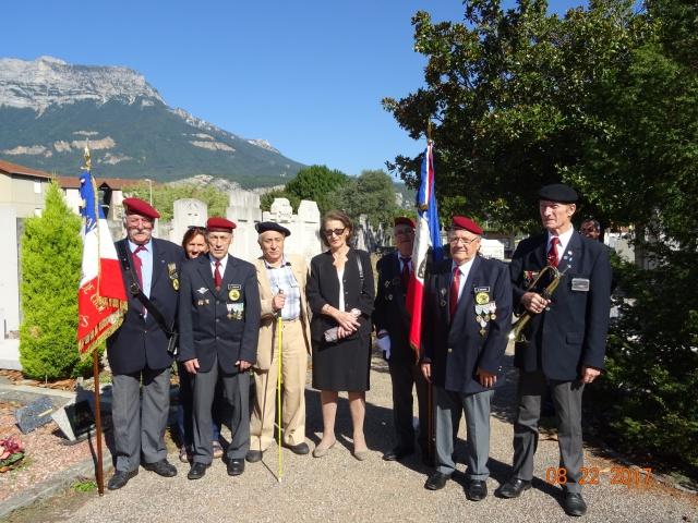 Chocs parachutés , libération Pont de Claix , Grenoble Août 1944 192458DSC01209min