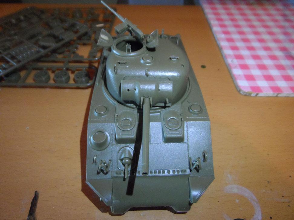 M4 Sherman late production Tamiya 1/35 192812SAM0375