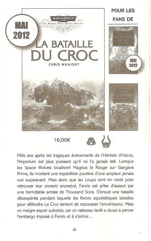 La Bataille du Croc de Chris Wraight 193566batailleducroc