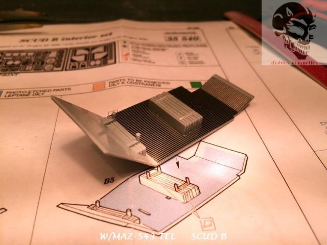 W/MAZ -543 TEL  SCUDB  maquette dragon 1/35 194542IMG4285