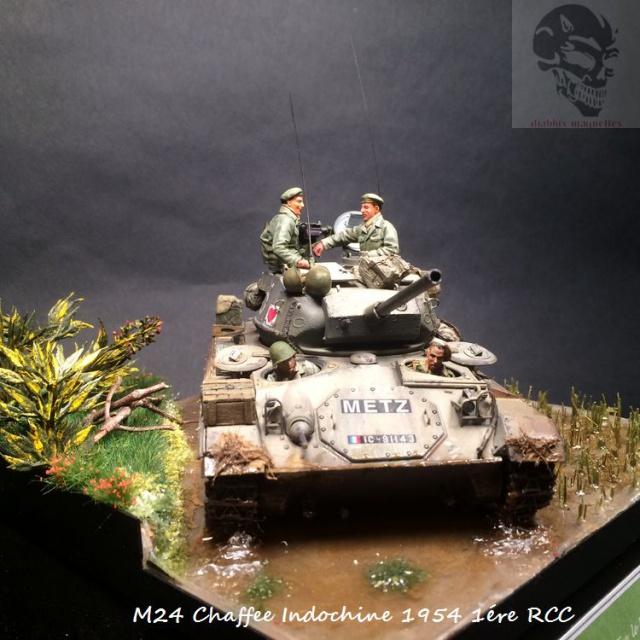 M24 Chaffee Indochine 1954 1ére RCC  196524IMG3738