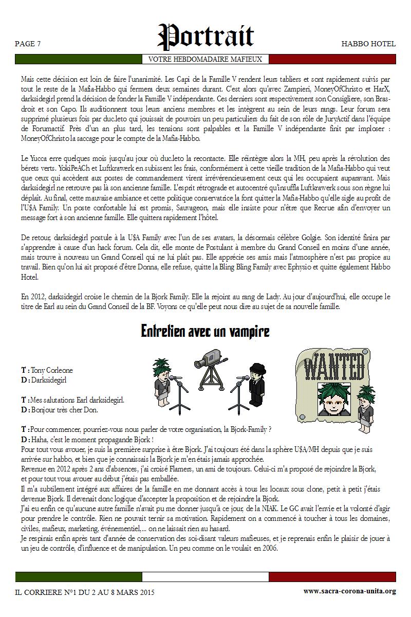 Il Corriere N°1 du 2 au 8 mars 2015 197681Portrait2
