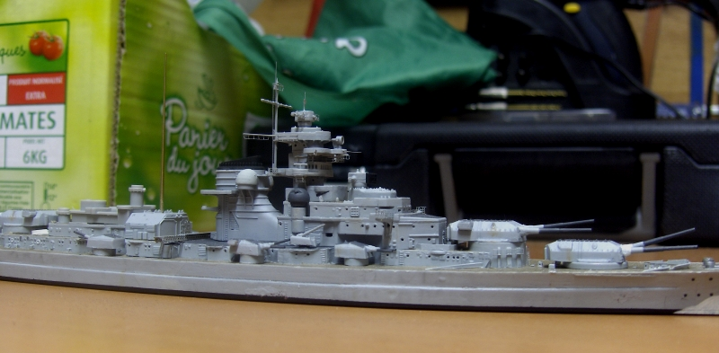 Bismarck 1/700 [Trumpeter] 198114HPIM2053