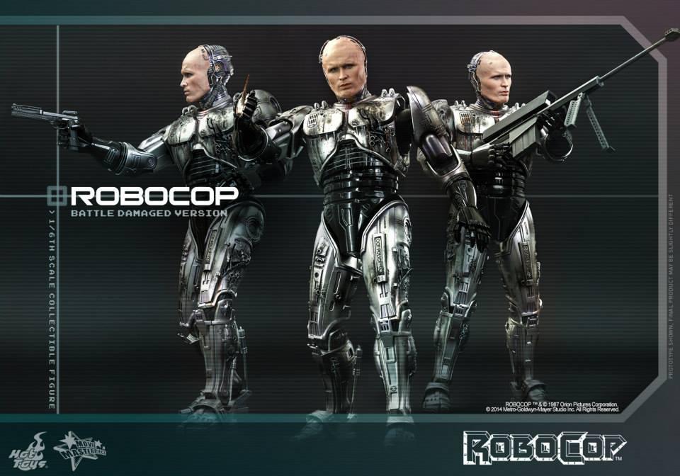 HOT TOYS - Robocop - Robocop (Battle Damaged Version) 198410111
