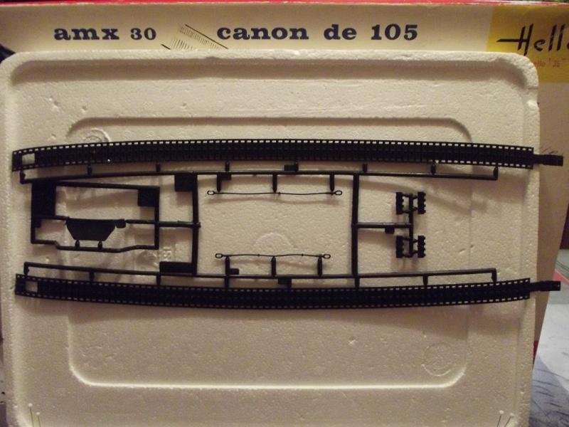 AMX 30 canon de 105 1/35ème Réf L 810 200200HellerAMX30105810021