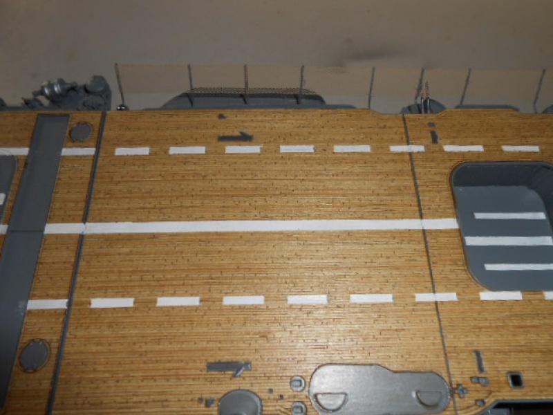 PA AKAGI 1/350 de chez Hasegawa PE + pont en bois par Lionel45 - Page 5 201433AA003